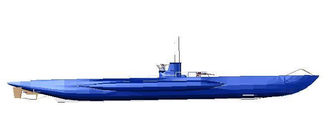 Planos de Submarino nuclear 3d, en Embarcaciones – Medios de transporte