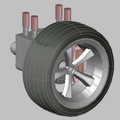 Planos de Suspension  hidraulica, en Medios de transporte – Proyectos