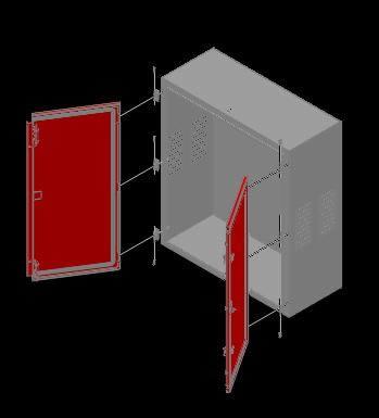 Planos de Tablero de chapa 3d, en Estanterías y modulares – Muebles equipamiento