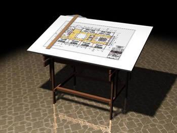 imagen Tablero de dibujo, en Muebles varios - Muebles equipamiento