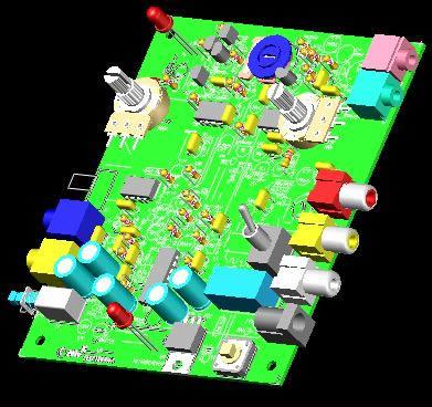 Planos de Tablero, en Componentes 3d – Electrónica