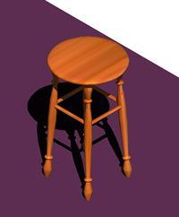 Planos de Taburete, en Sillas 3d – Muebles equipamiento