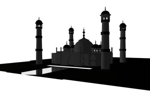 imagen Taj - majal 2, en Obras famosas - Proyectos