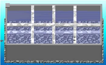 imagen Tanque de almacenamiento de agua - concreto 3d, en Salas de máquinas - Instalaciones