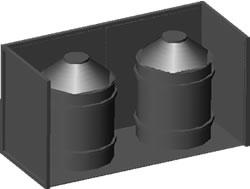imagen Tanques de plástico para agua 3d, en Provisión de agua - Instalaciones