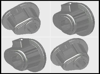 Planos de Tapa para engranajes, en Válvulas tubos y piezas – Máquinas instalaciones
