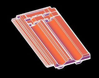 Planos de Teja francesa 3d -, en Cubiertas – estructuras – Detalles constructivos