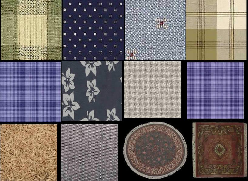 Telas para texturas, en Tapizados – Texturas