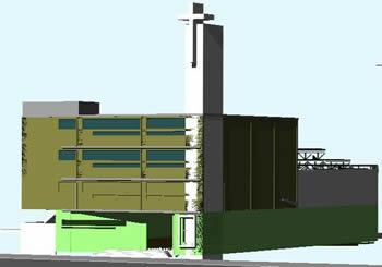 Planos de Templo en 3d, en Arq. religiosa – Proyectos
