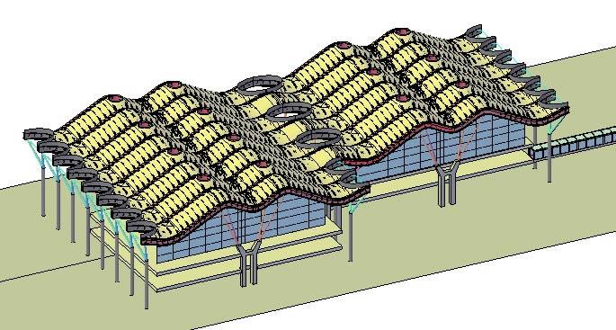 Planos de Terminal t4 – aeropuerto de madrid, en Aeropuertos – Proyectos