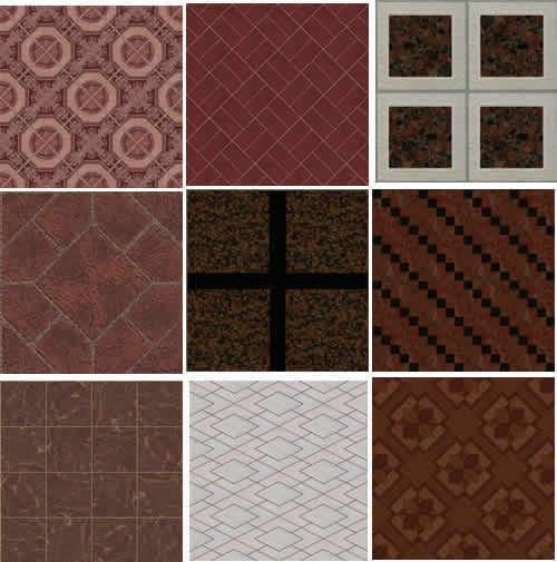 imagen Textura de piso, en Pisos varios - Texturas