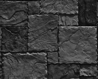 Textura para fachada piedra laja negra, en Piedra – Texturas