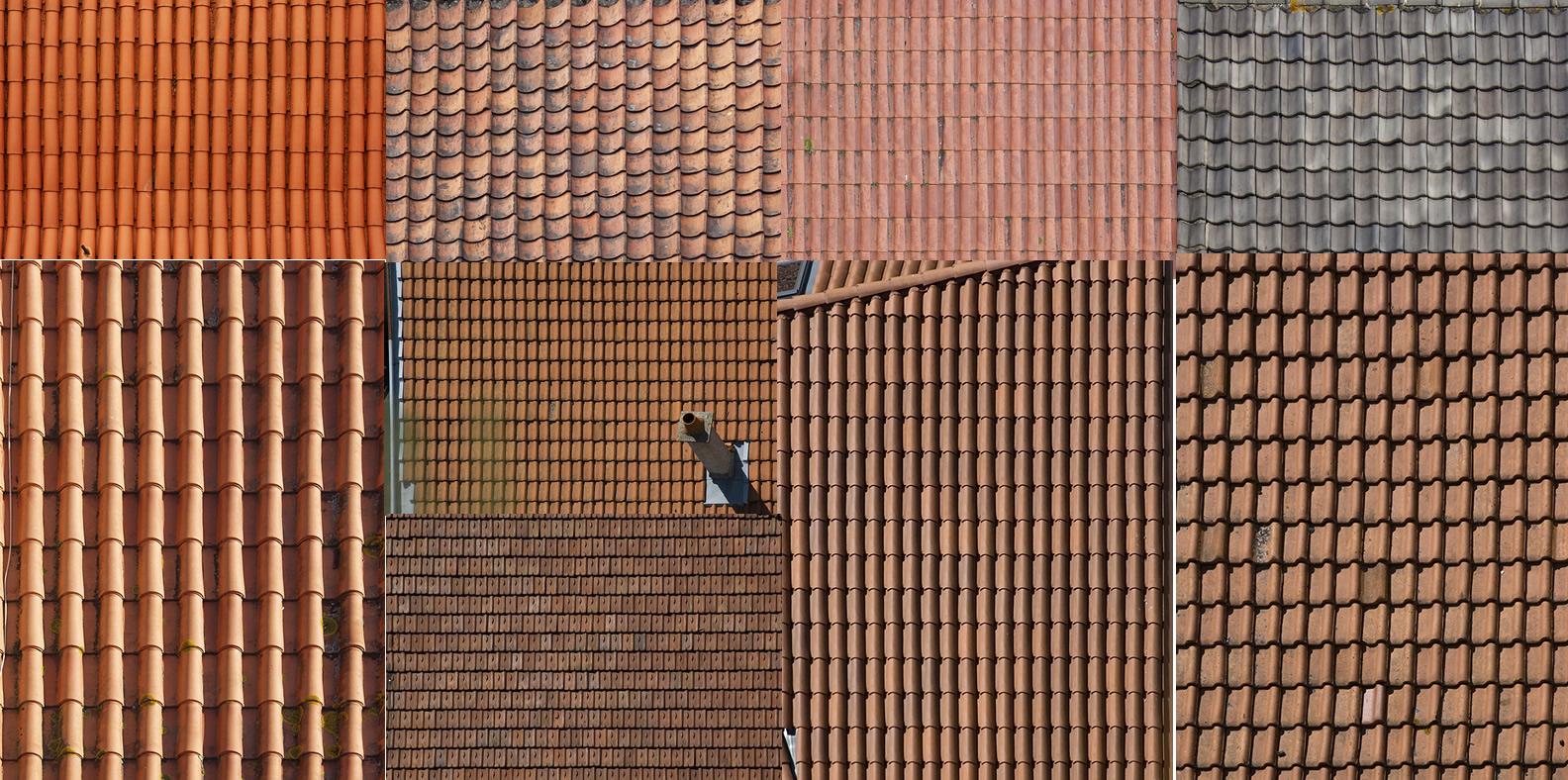 Textura tejados, en Tejados – Texturas