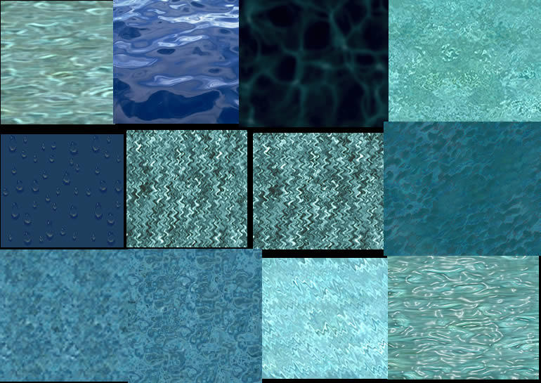 imagen Texturas de agua, en Agua - Texturas