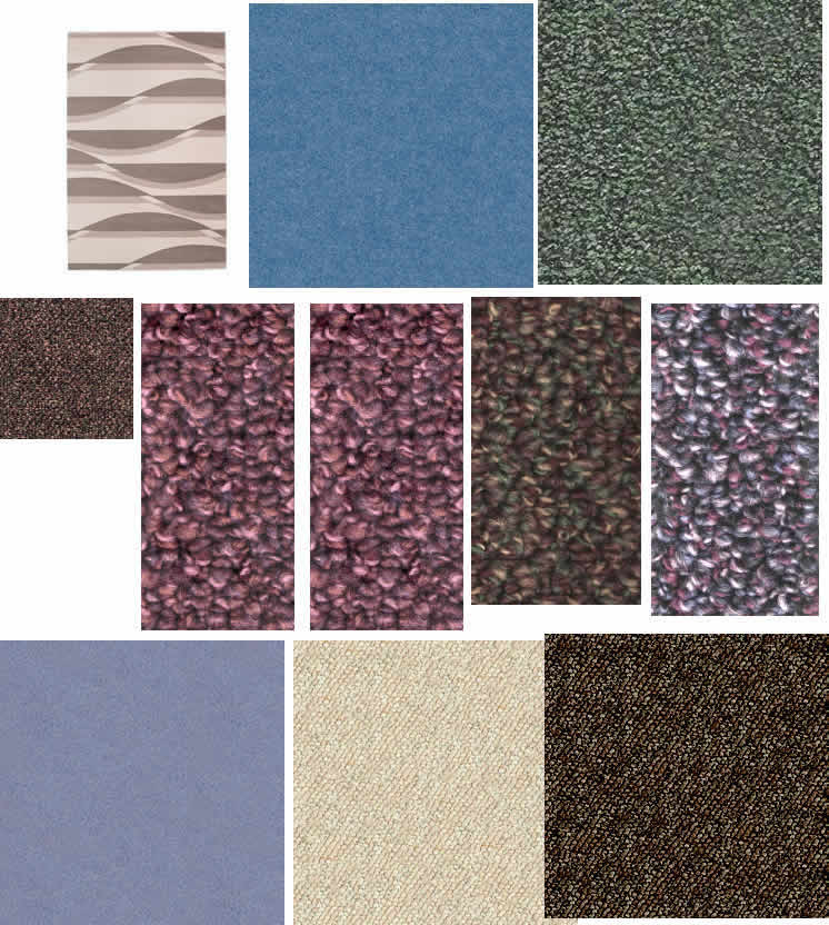 Texturas de alfombras y tapizados, en Tapizados – Texturas