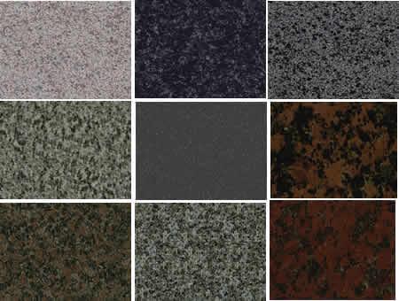 Texturas de granito, en Pisos graníticos y porcelanatos – Texturas