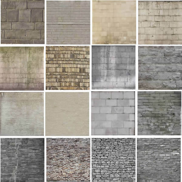 Texturas de ladrillos, en Ladrillo visto – Texturas