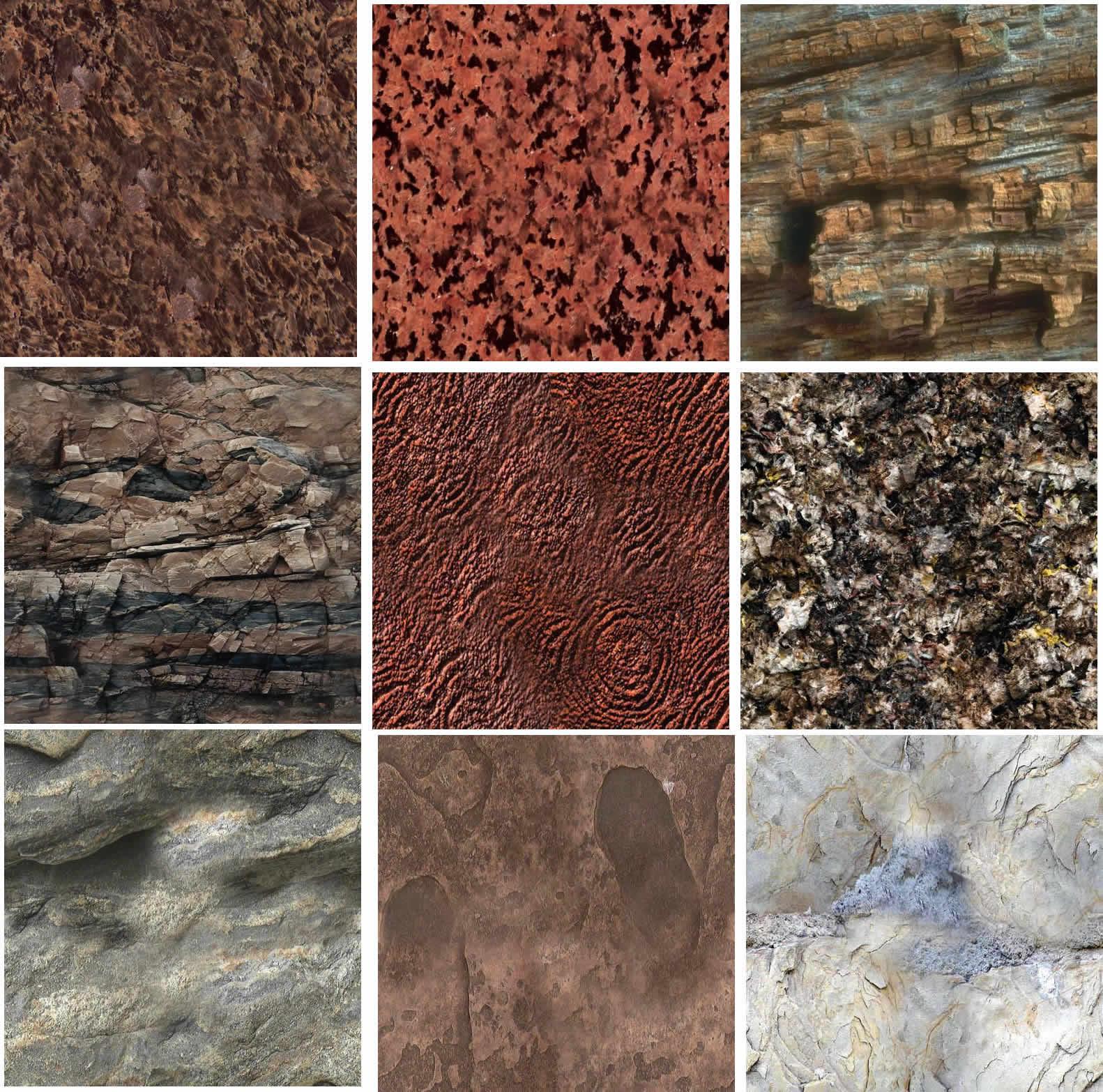 imagen Texturas de piedra y  rocas, en Piedra - Texturas