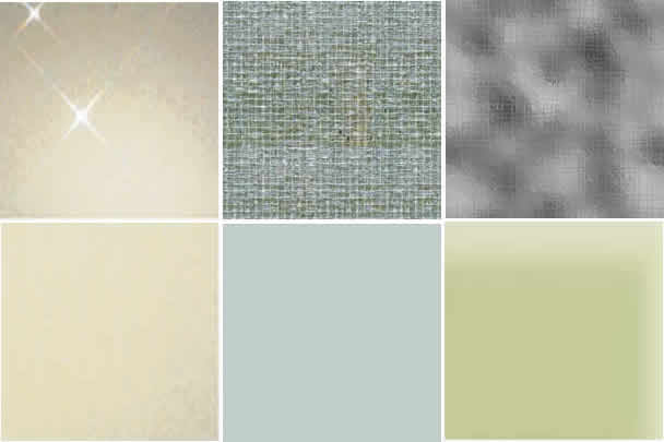 Texturas de vidrios, en Vidrios – Texturas