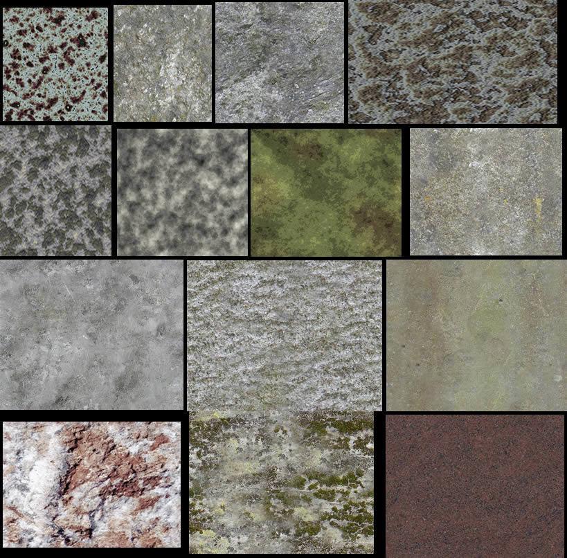Texturas para renders, en Hatch varios – Texturas