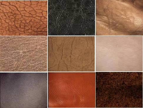 Texturas varias primera parte, en Tapizados – Texturas