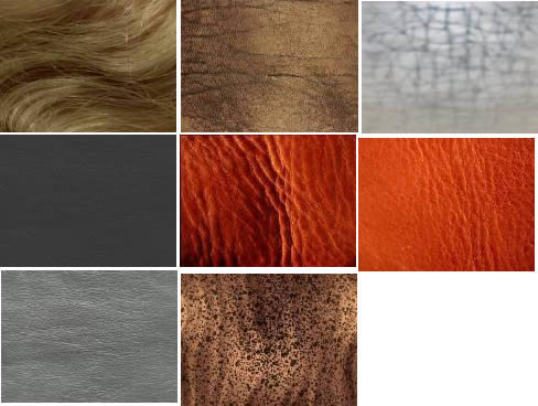 Texturas varias segunda parte, en Tapizados – Texturas