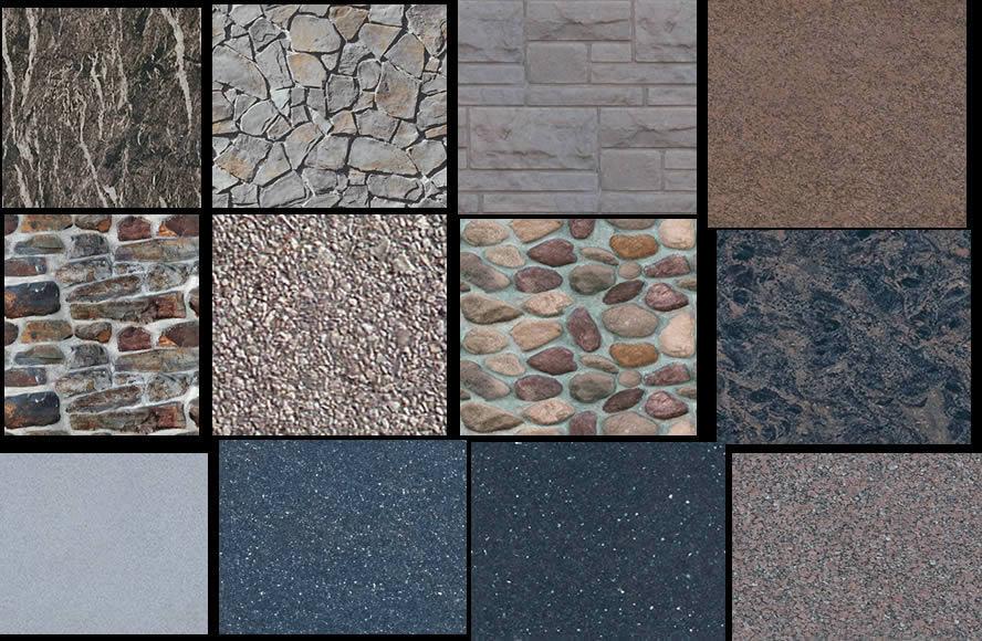Texturasde piedras, en Hatch varios – Texturas