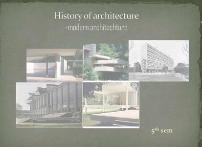 Planos de arquitectura de la historia moderna en pdf for Planos de arquitectura pdf