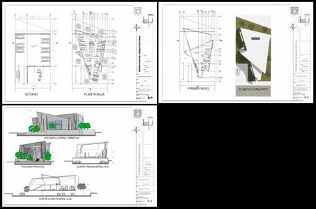 Planos De Estudio De Arquitectura En Pdf Proyectos