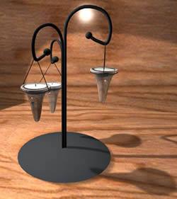 imagen Planos de Portavelas 3d en MAX , Luminarias - Muebles equipamiento