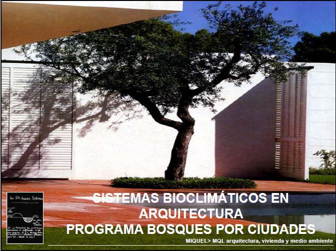 imagen Sistemas bioclimaticos en arquitectura en PDF