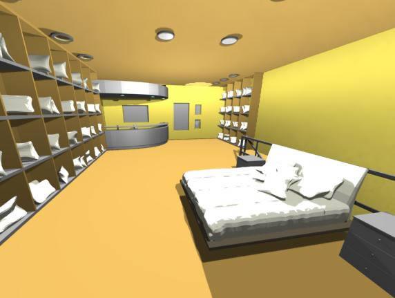 imagen Tienda de almohadas, en Comercios varios - Proyectos