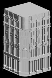 Planos de Tienda harvey nichols 3d, en Teatros y edificios públicos – Historia