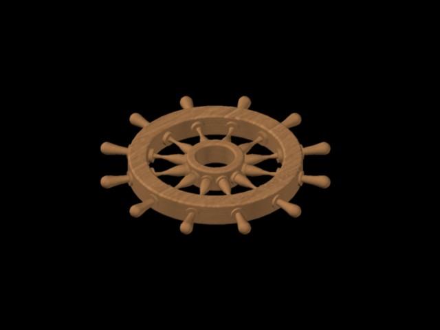 Planos de Timon barco, en Embarcaciones – Medios de transporte