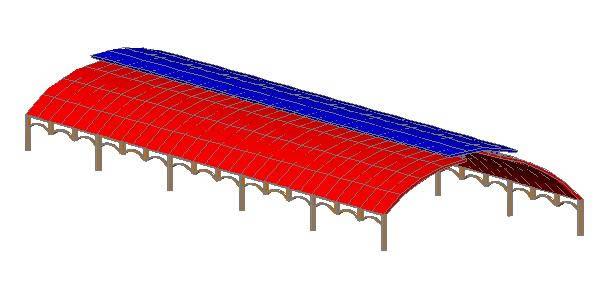 Planos de Tinglado 3d, en Galpones – Proyectos