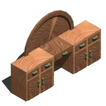 imagen Tocador 3d, en Muebles varios - Muebles equipamiento