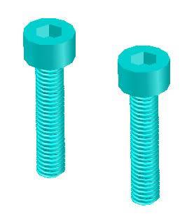 Planos de Tornillo allen m3 x 0.5, en Válvulas tubos y piezas – Máquinas instalaciones