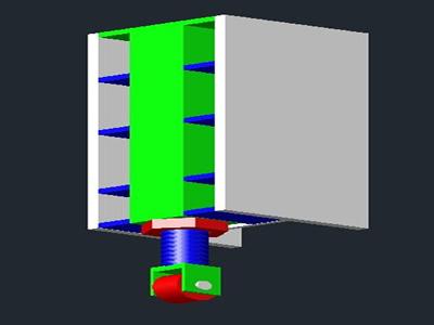 imagen Tornillo con guía, en Válvulas tubos y piezas - Máquinas instalaciones