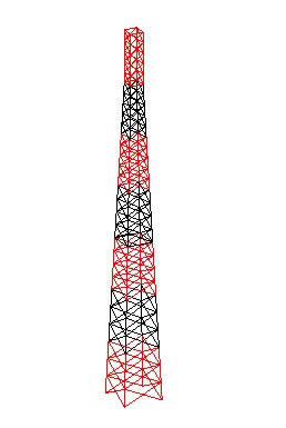 imagen Torre autosoportada de 4 lados, en Telecomunicaciones - Infraestructura
