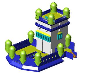 Planos de Torre de belen, en Monumentos y esculturas – Historia
