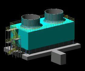 imagen Torre de enfriamiento, en Maquinaria e instalaciones industriales - Máquinas instalaciones