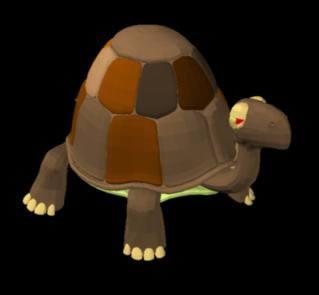 imagen Tortuga en 3d, en Animales 3d - Animales