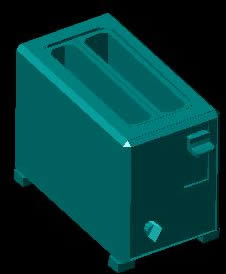 Planos de Tostadora 3d, en Electrodomésticos – Muebles equipamiento