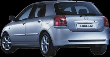 Toyota corolla   – fotografia, en Automóviles – fotografías para renders – Medios de transporte