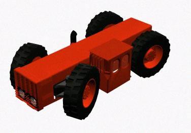 Tractor especial, en Maquinaria – Granjas e inst. agropecuarias