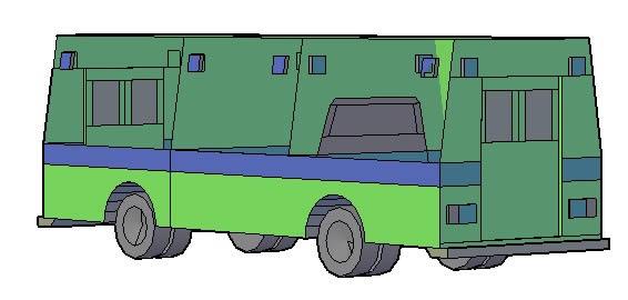 Planos de Trailer, en Automóviles en 3d – Medios de transporte
