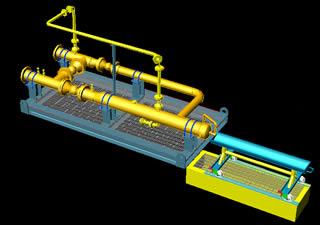 Planos de Trampa de raspadores 3d, en Maquinaria e instalaciones industriales – Máquinas instalaciones