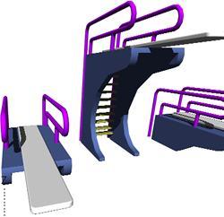 imagen Trampolines, en Construcciones accesorias - Piscinas y natatorios