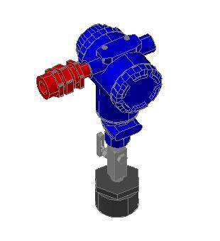 Planos de Tranmisor de presion – equipos de instrumentacion, en Plantas industriales – Proyectos