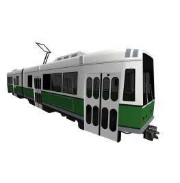 Tranvia 3d, en Ferrocarriles – Medios de transporte